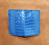 Blue Dragon Hide Leather Passport and Pocket Size Journal Cover