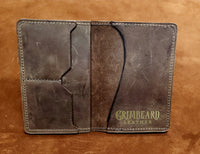 Leather Passport and Pocket Size Journal Cover