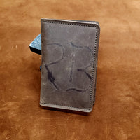 Branded RB Leather Passport and Pocket Size Journal Cover