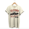 Mens Cali Raised Vintage Tee