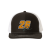 Orange No. 26 Signature Hat