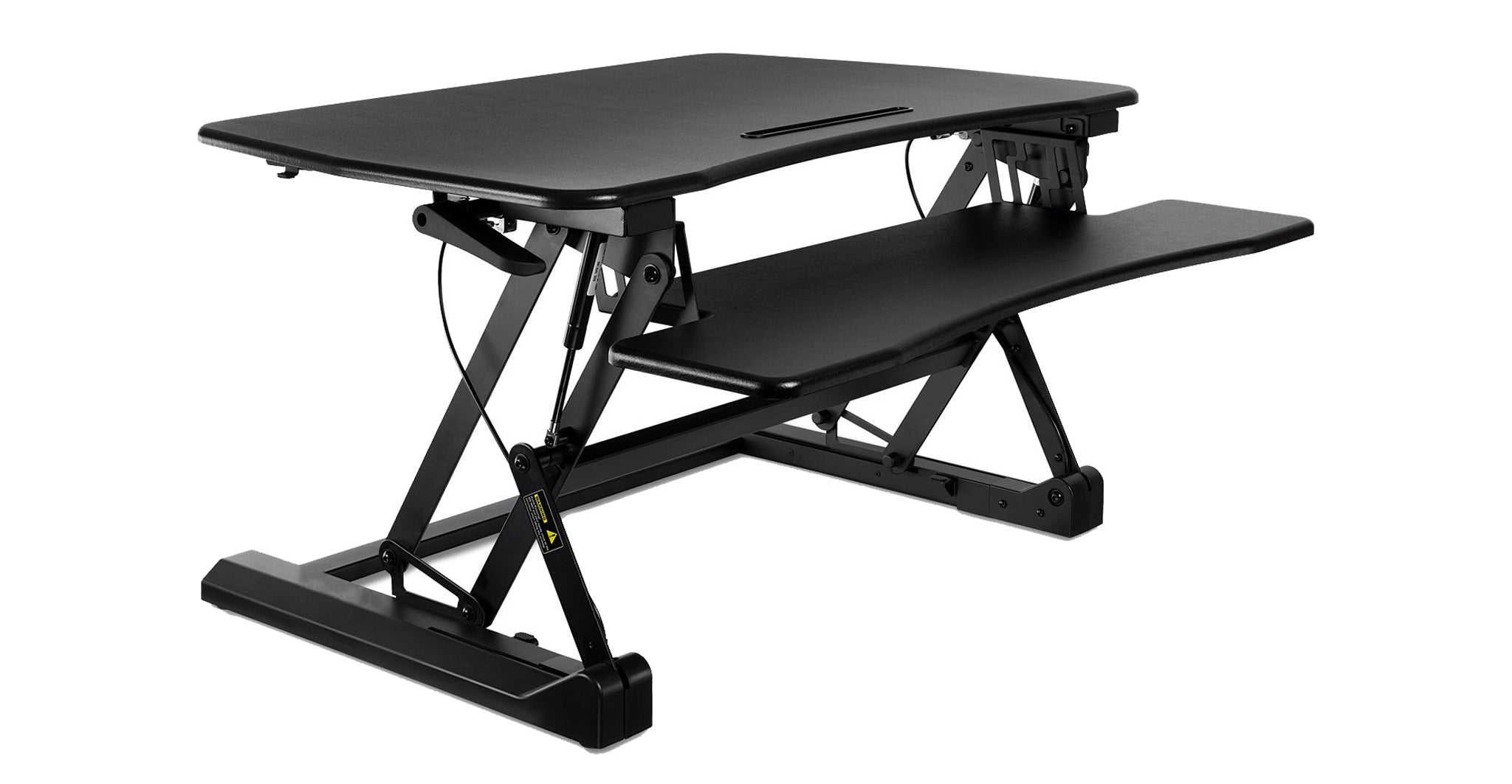 Ergonomic Sit-Stand Desktop Workstation Stand
