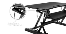 Load image into Gallery viewer, Ergonomic Sit-Stand Desktop Workstation Stand