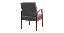 Load image into Gallery viewer, Roow Designer Mid Back Fabric Guest Chair Cherry Color