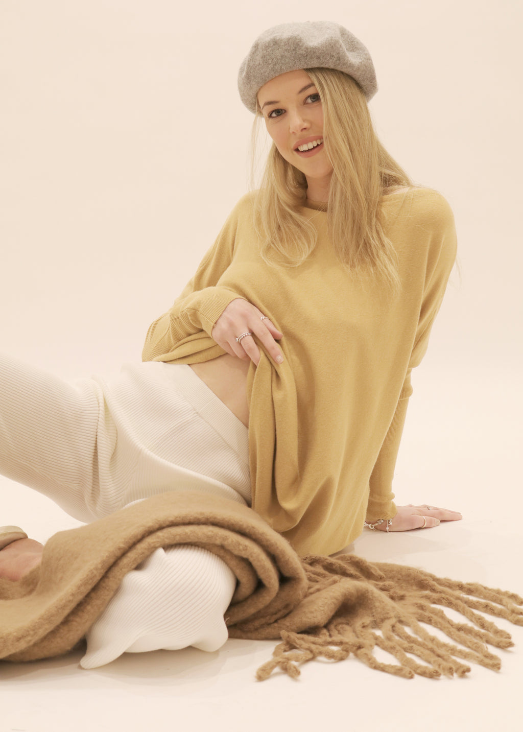 Amazing Knit Jumper in Tan