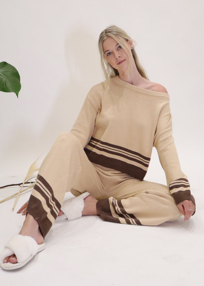 Heverly Loungewear Set in Beige