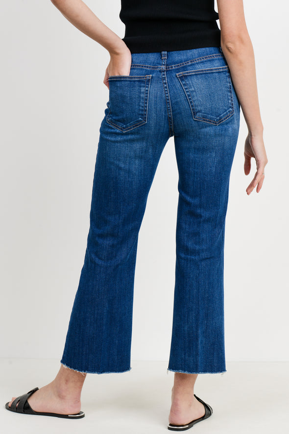Sicily Crop Kick Flare Jeans