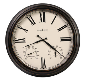 Howard Miller 625-677 Aspen Outdoor Wall Clock