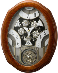 Rhythm Joyful Glory Magic Motion Wall Clock