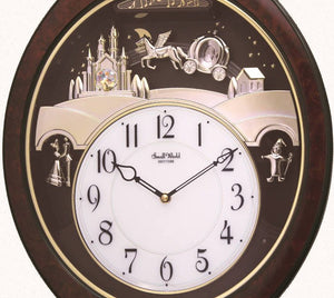 Rhythm Musical Motion Princess Fantasy Wall Clock