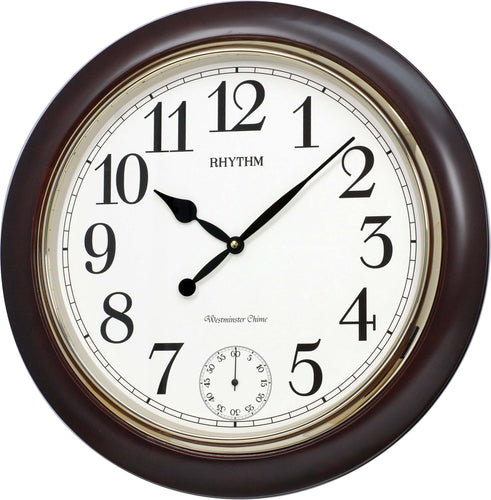 Rhythm WSM Preston Musical Wall Clock