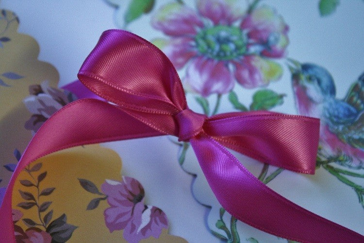 Satin Ribbon Pink , 15mm x 50m