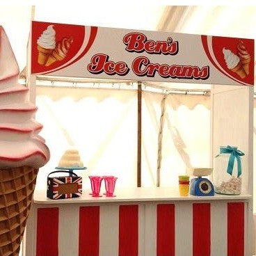 Ben's Ice Cream Booth