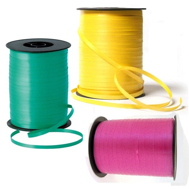 Curling Ribbon, Set of 3, Tropical Colours