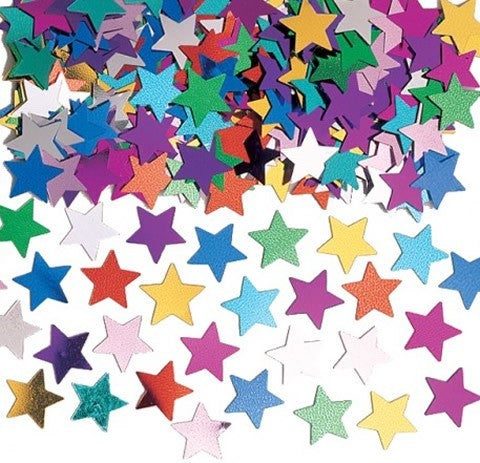 Confetti Star Multi Coloured