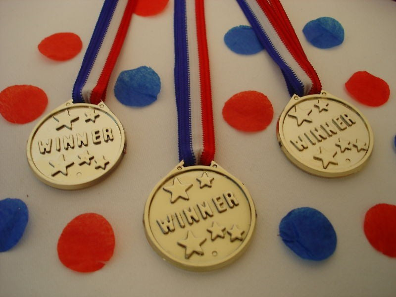 Winners medals (pack of 24)