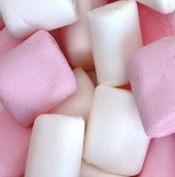 Sweets Marshmallows Haribo White and Pink