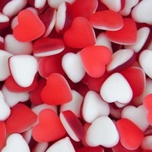 Sweets Haribo Hearts