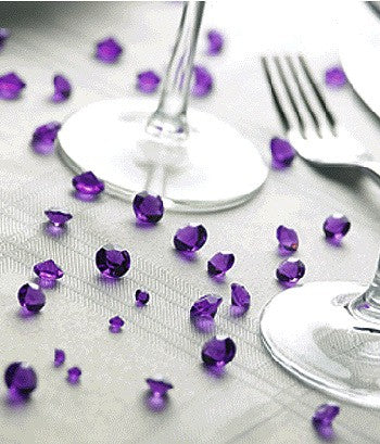Table Crystals Purple