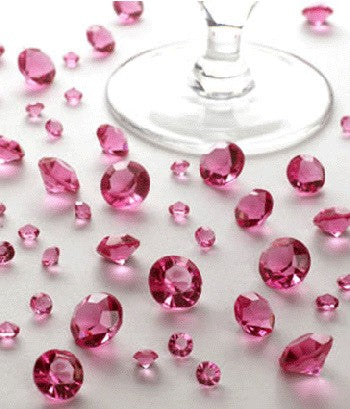 Table Crystals Pink
