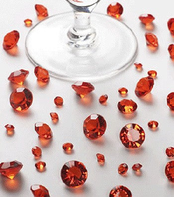 Table Crystals Red