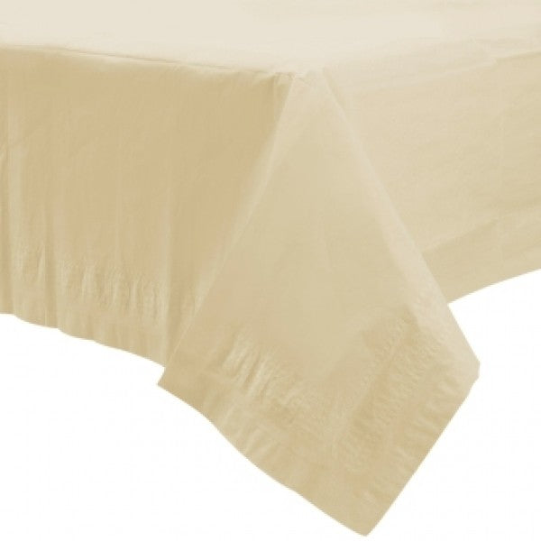 Ivory Paper Tablecover
