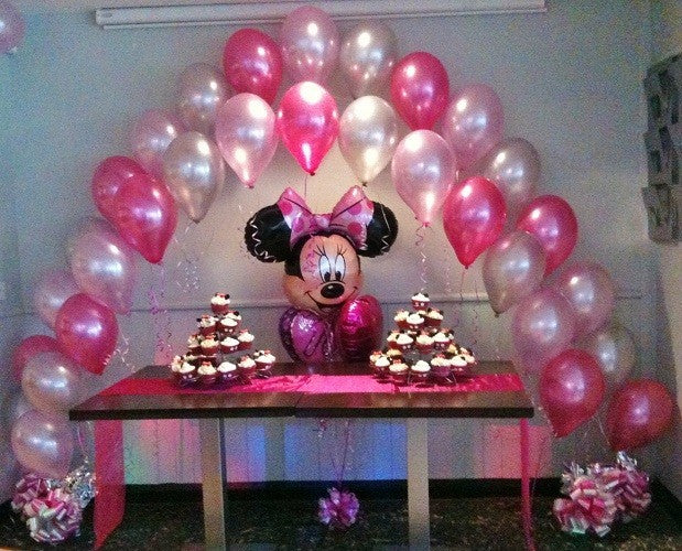 Balloon Arch Double -  (Central Cluster Not Included in Price) - Contact For Details - Prices are Approximations
