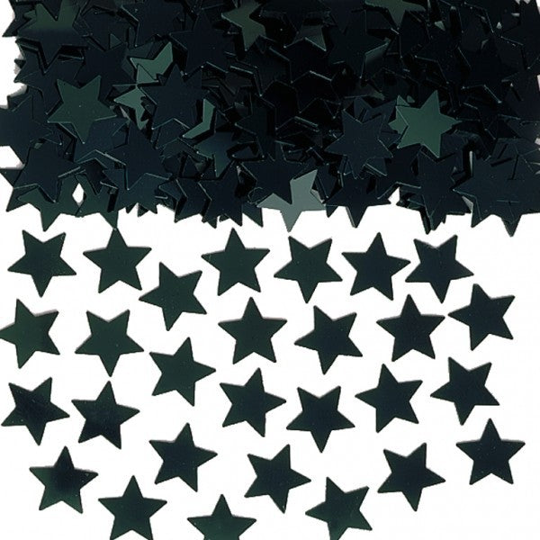 Confetti Star Black