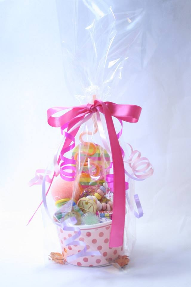 Pink Ice Cream Tub Party Bag