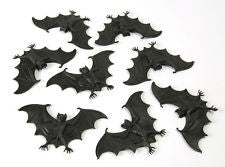Scary Black Bat Decorations
