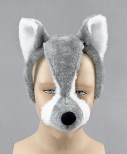 Animal Mask with sound Wolf