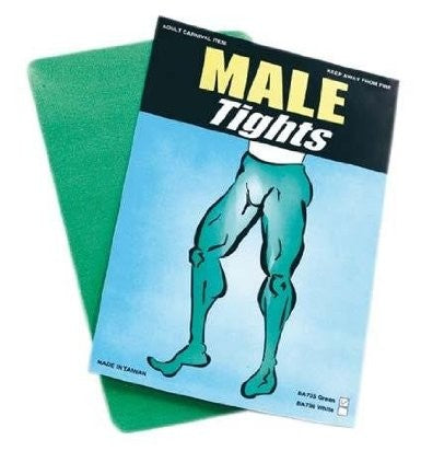 Tights - Green for Men