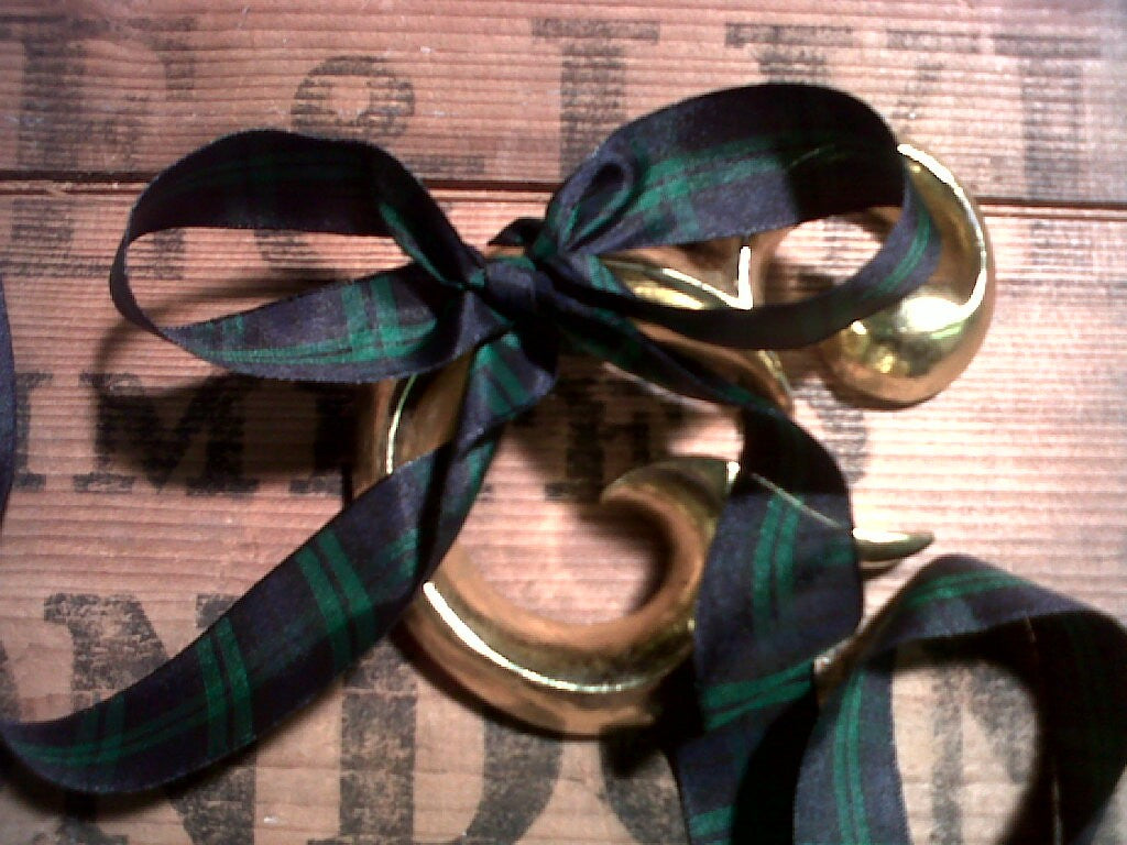 Ribbon - 'Black Watch' Tartan 25mm x 5 m