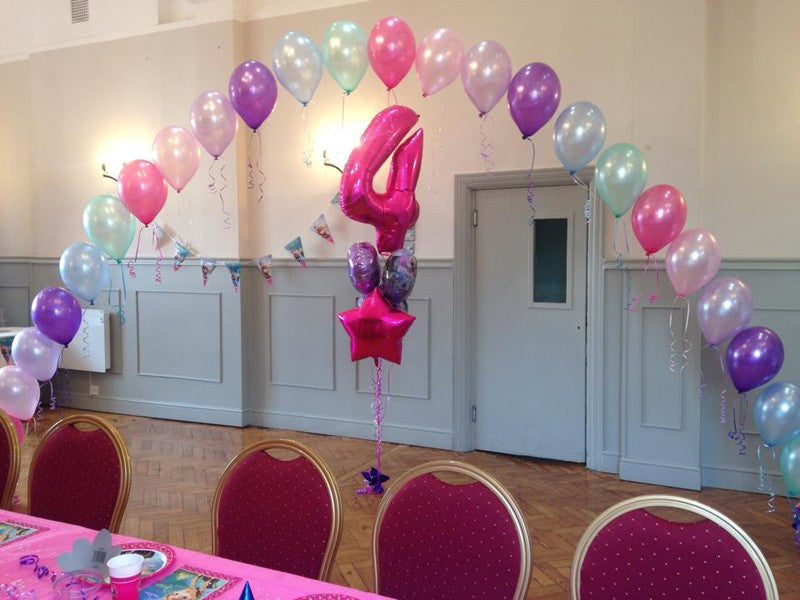 Balloon Arch - Frozen Themed - Contact For Details - Prices are Approximations