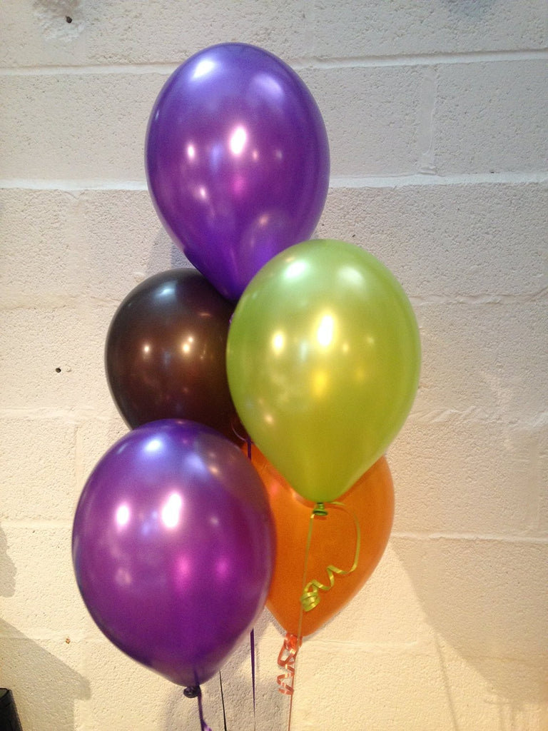 The Gruffalo Themed Pearlised Latex Balloons (Helium Quality)