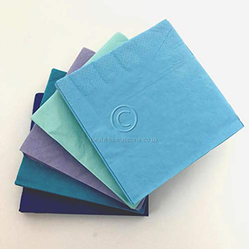 100 x Under the Sea Range Party Paper Napkins!