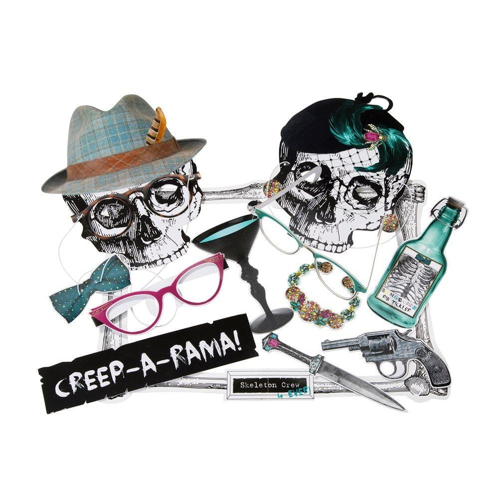 Skeleton Crew Photo Booth Kit! (Includes Frame)
