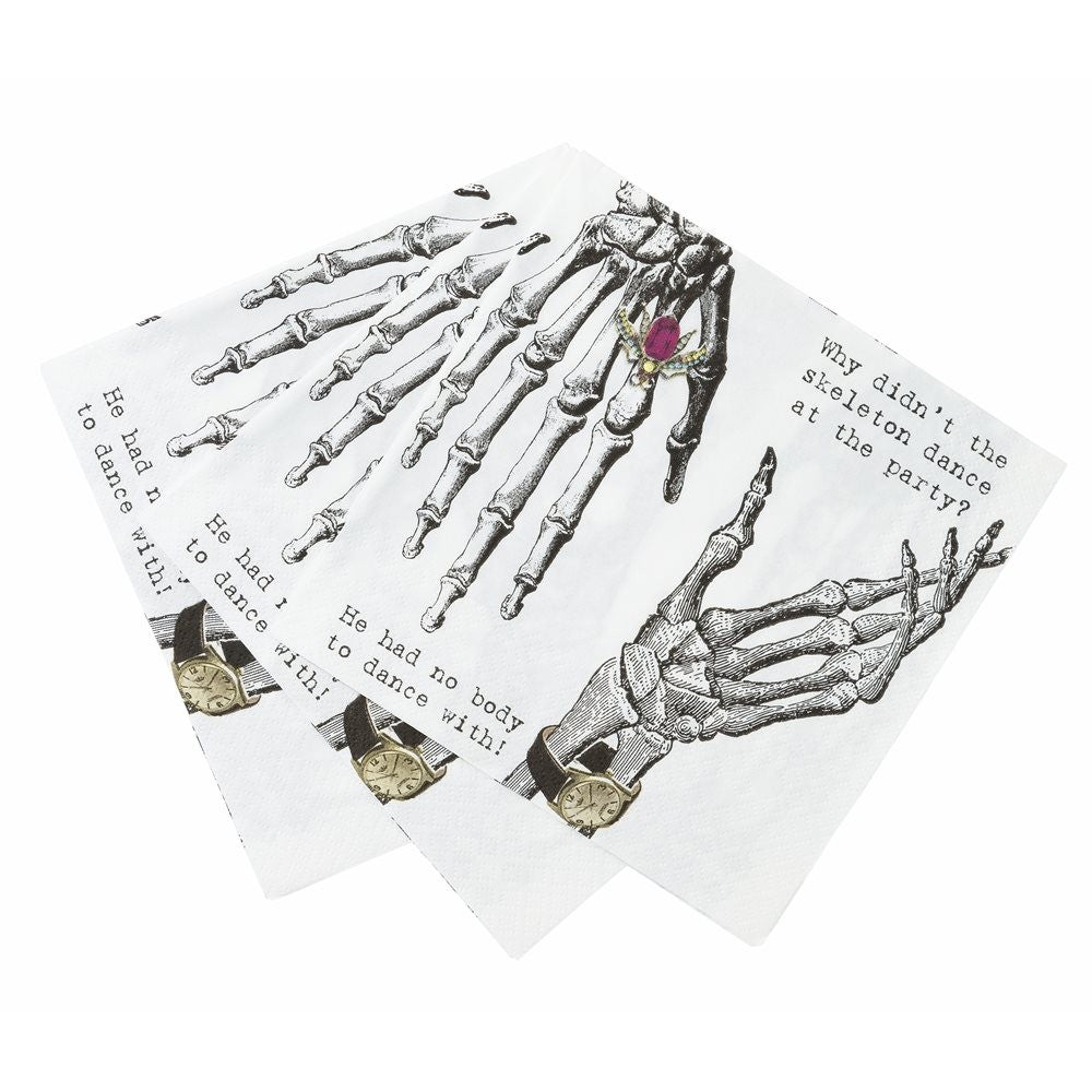 Skeleton Crew Napkins
