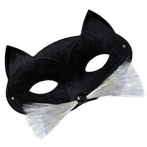 Masquerade Cat Mask with Whiskers - Perfect for Halloween!