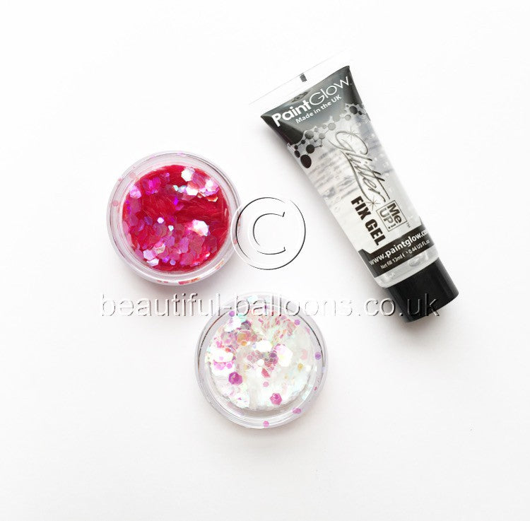 Mesmerising Mermaid Face, Hair and Body Glitter Set