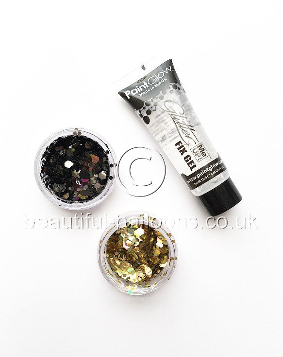 Sparkle Like a Unicorn Face, Hair and Body Glitter Set