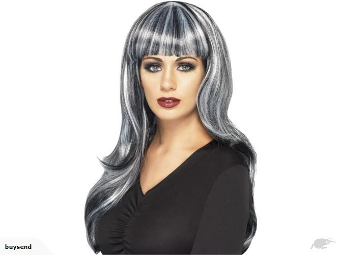 Sinister Siren Silver wig