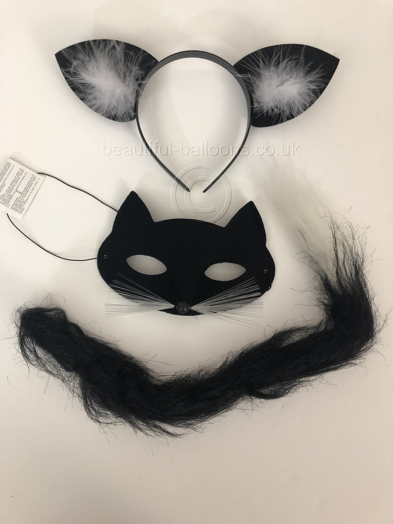Beautiful Balloons Black Cat Fancy Dress Kit - World book day!
