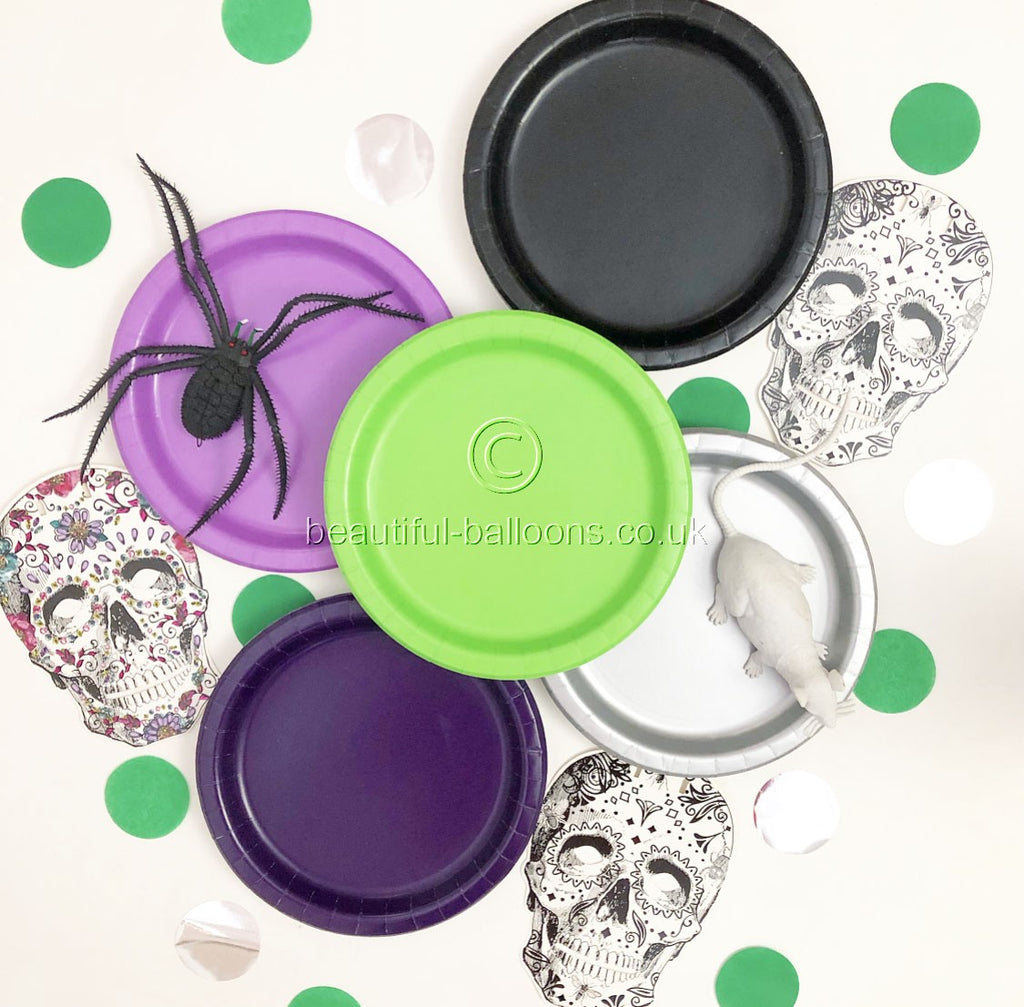 40 x Halloween Plate Shade Range - Perfect for Halloween Parties!