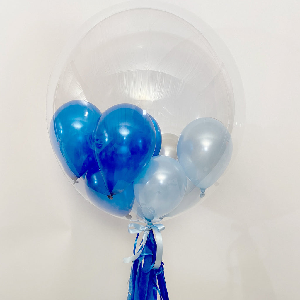 Blue Shades Bubble Balloon