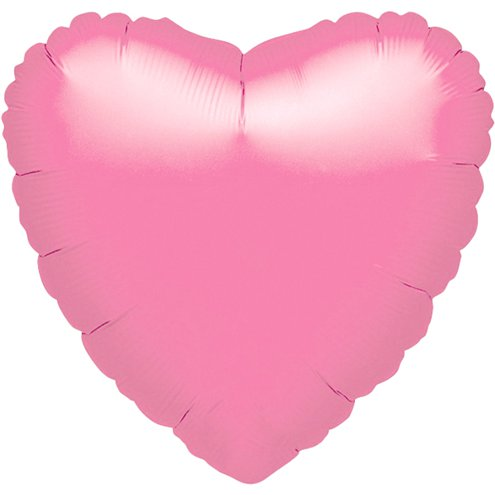 "Baby Pink 18"" foil heart"