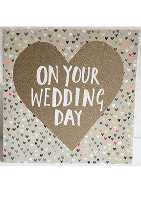 'On Your Wedding Day' Card
