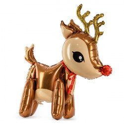 Rudolph the Red Nose Reindeer Shiny Foil Balloon