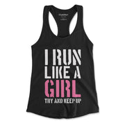 Run Like a Girl Women's Tank Top