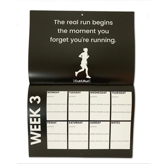 12 Week Training Plan Calendar for Runners
